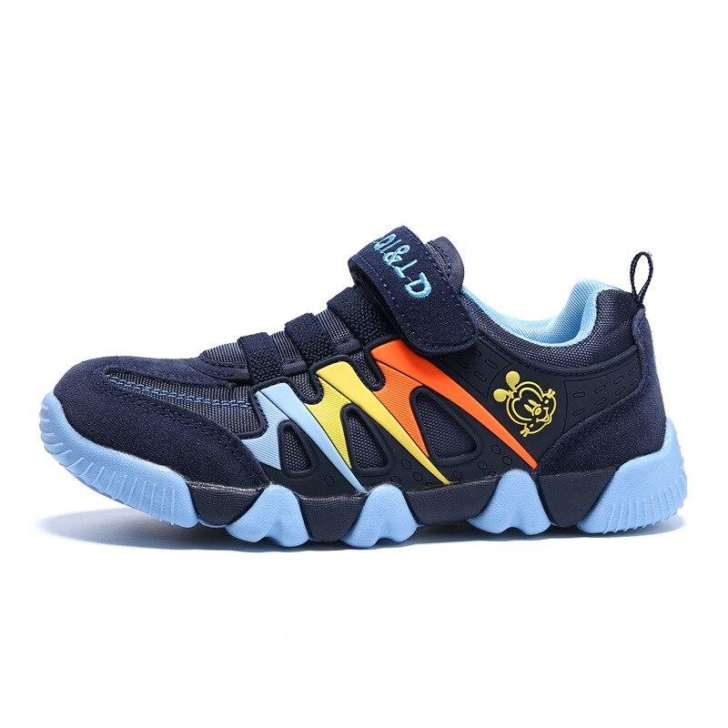 Детская обувь, детская обувь для мальчиков, повседневные кожаные кроссовки для девочек, модные детские кроссовки для мальчиков, новый бренд...