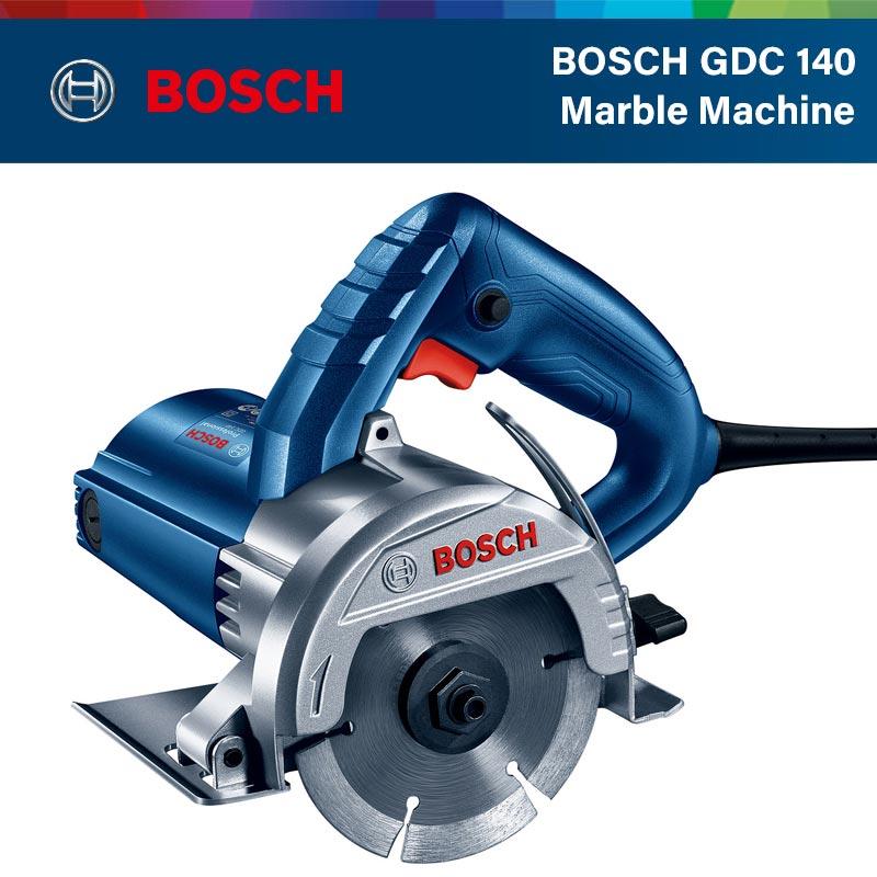 Станок для резки мрамора Bosch GDC 140, долбежный станок, машина для резки плитки и камня 1400 Вт, мощный профессиональный электроинструмент Bosch