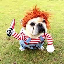 Смешная одежда для домашних животных косплей милая Одежда собак