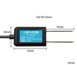 Sensor de ph do solo detector rs485/gprs/4g/longa greenhouse agrícola 0-5v 0-transmissor de valor ip68, testador de solo 10v NB-IOT ph