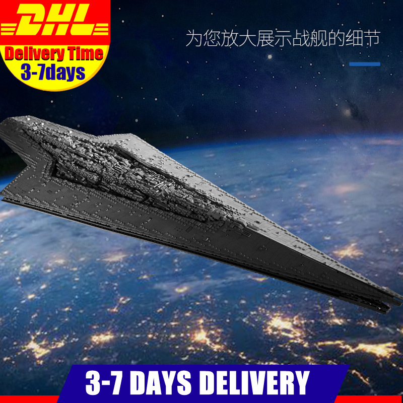 2020 13134 7788Pcs Star Toys Wars The MOC-23556 Imperial Star Destroyer 75252 75292 05027 Kids Toys Gifts Building Blocks Bricks