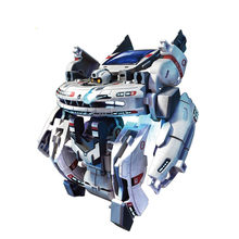 Science Toy 7-in-1 Solar Interstellar Fleet GE-641 Model Assembly DIY Puzzle Experiment Children Gift(China)
