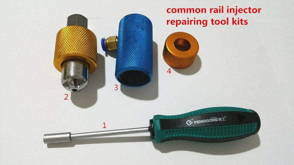 Grande vente! kits d'outils de réparation d'injecteur à rampe commune et outils de démontage pour 320D, kits d'outils de réparation d'injecteur, rampe commune, 320 D