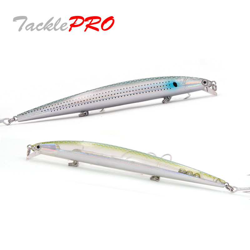 TacklePRO M27 Floating Minnow  For Fishing 130mm 15.5g Hard Lure 1PC Fishing Lure Wobblers Swimming Depth 1.5M Lures