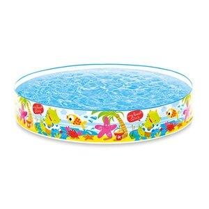 Swimming Pool Baby Wading Fun
