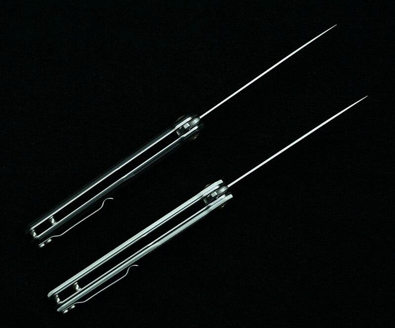 NOC DG12 folding knife 440C blade G10 Carbon fiber handle tactical camping Cutter pocket knife outdoor Survival knives EDC Tools