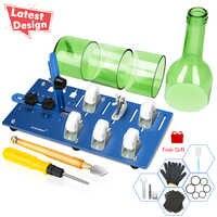 DIY Glas Flasche Cutter Glas Schneiden Werkzeuge für, Der Kronleuchter Lampenschirm Dekorative Sterne Lichter Flasche Blume Vase Wind Chime