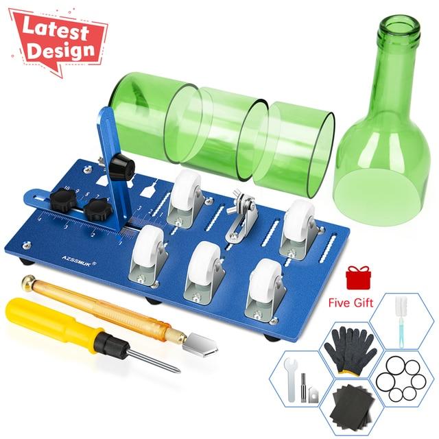 FAI DA TE Bottiglia di Vetro Cutter Utensili Da Taglio di Vetro per Fare Lampadario Paralume Decorativo Star Luci Bottiglia Vaso di Fiori Carillon di Vento