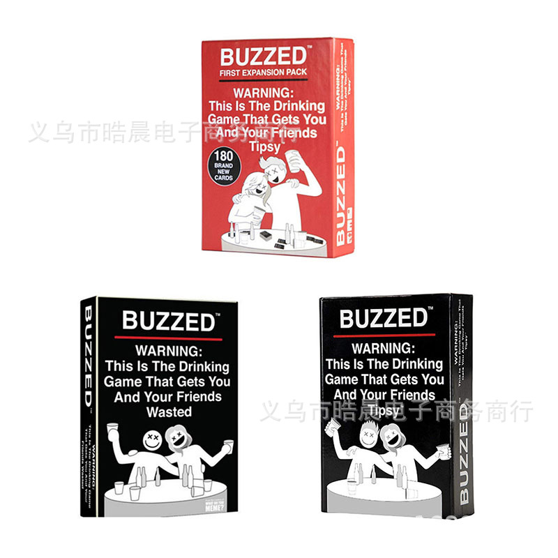 Board Game Chess Buzzed Tipsy Wasted Drunk Brand Expanding Version Party Game Adult Drinking