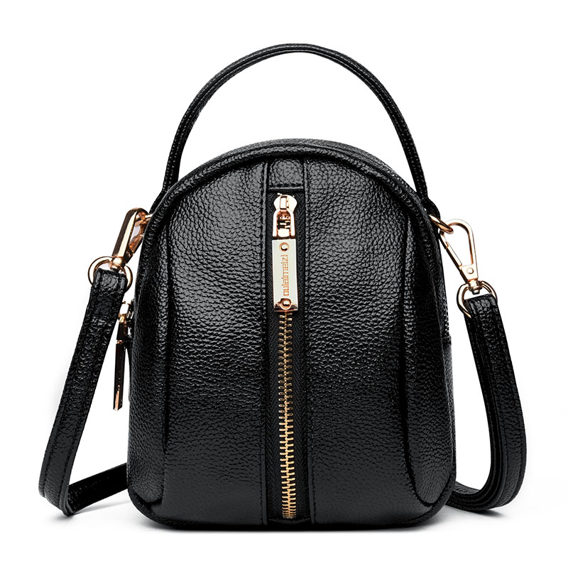 Shoulder Bag Women 2019 Fashion Black Pu Leather Messenger Bag For Women Mini Shopping Women Bag Crossbody Bag For Girl