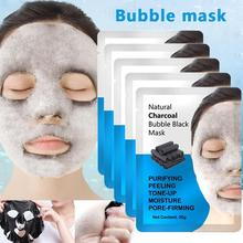 лучшая цена Moisturizing black mask Face Facial Mask Fresh Anti-Acne Plant Extract Oil Control Hydrating Sheet Face Mask skin care whitening