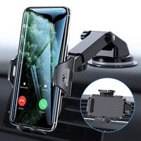 Soporte de teléfono móvil con ventosa para coche, No magnético, con GPS, para iPhone 11 Pro, Xiaomi y Samsung, 2021