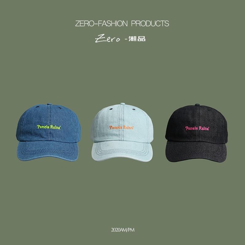 Cap Women Men Washed Cotton Baseball Cap Unisex Casual Adjustable Caps Outdoor Trucker Snapback Hats