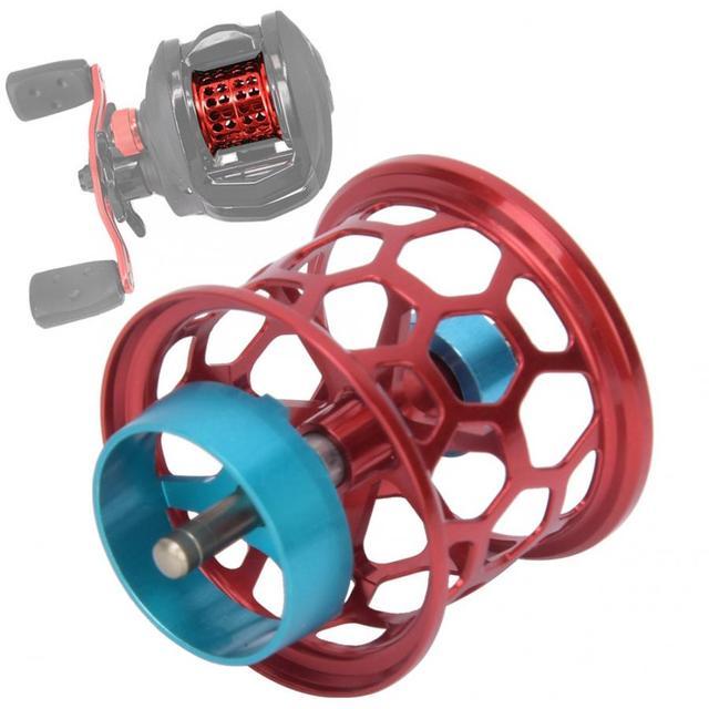 Best 100 percent Original Fishing Reel Spool Aluminum Fishing Reels cb5feb1b7314637725a2e7: Black|Gold|Purple|Red