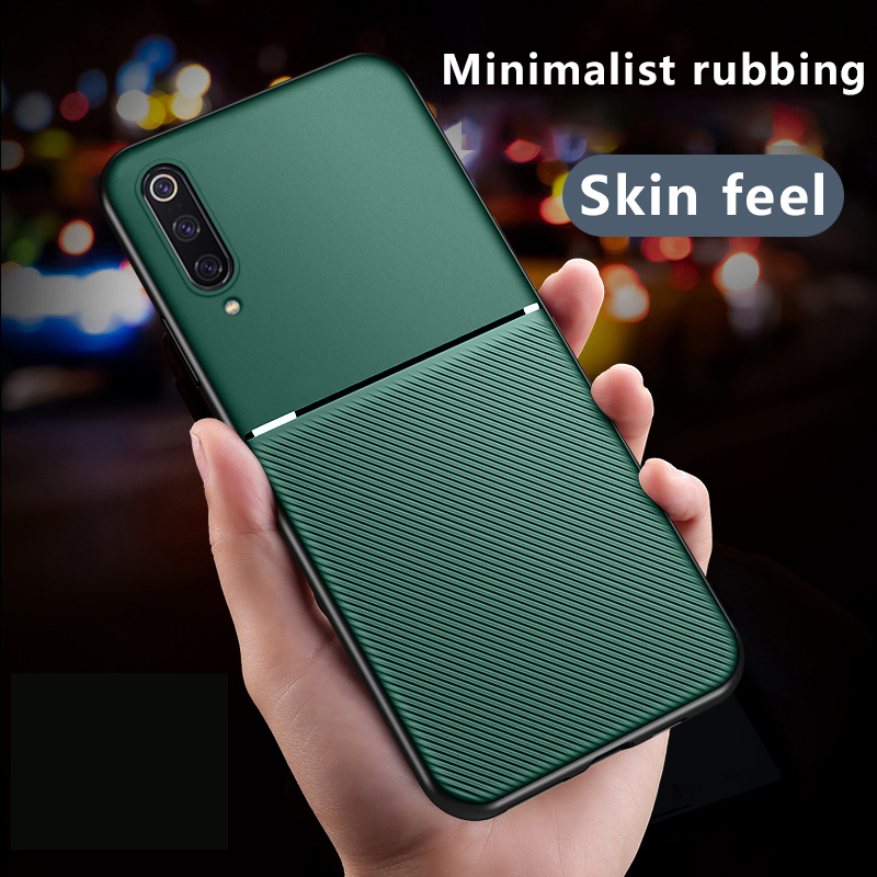 Luxury <font><b>Silicone</b></font> Car Magnetic Holder Phone <font><b>Case</b></font> <font><b>For</b></font> <font><b>Xiaomi</b></font> <font><b>Mi</b></font> <font><b>9</b></font> 8 <font><b>SE</b></font> 9T Lite Redmi Note 8 7 5 A Pro Ultra-thin Protection Cover image