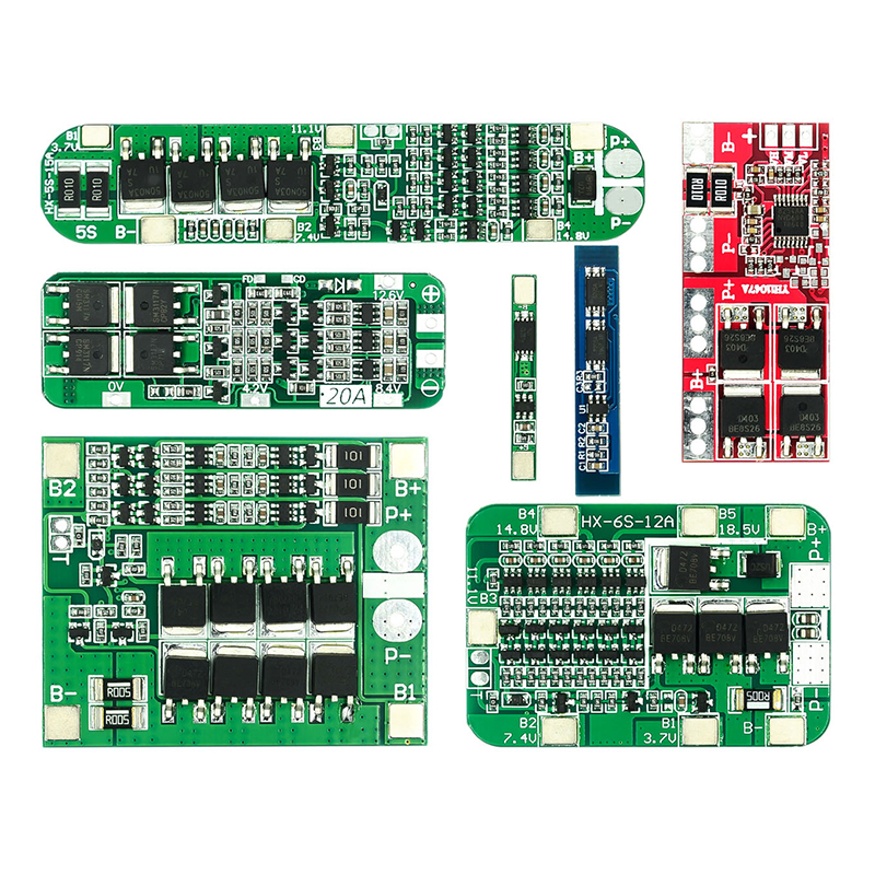 1S 2S 3S 4S 3A 20A 30A Li-Ion Lithium Batterij 18650 Charger Pcb Bms Bescherming Boord voor Boor Motor Lipo Mobiele Module 5S 6S image