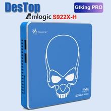 Beelink-Smart TV box GT-King Pro, audio DTS 4K Dolby Hi-Fi sin pérdidas, Amlogic 2922X-H, Hexa Core, Android 9.0, 4GB de RAM, 64 de ROM