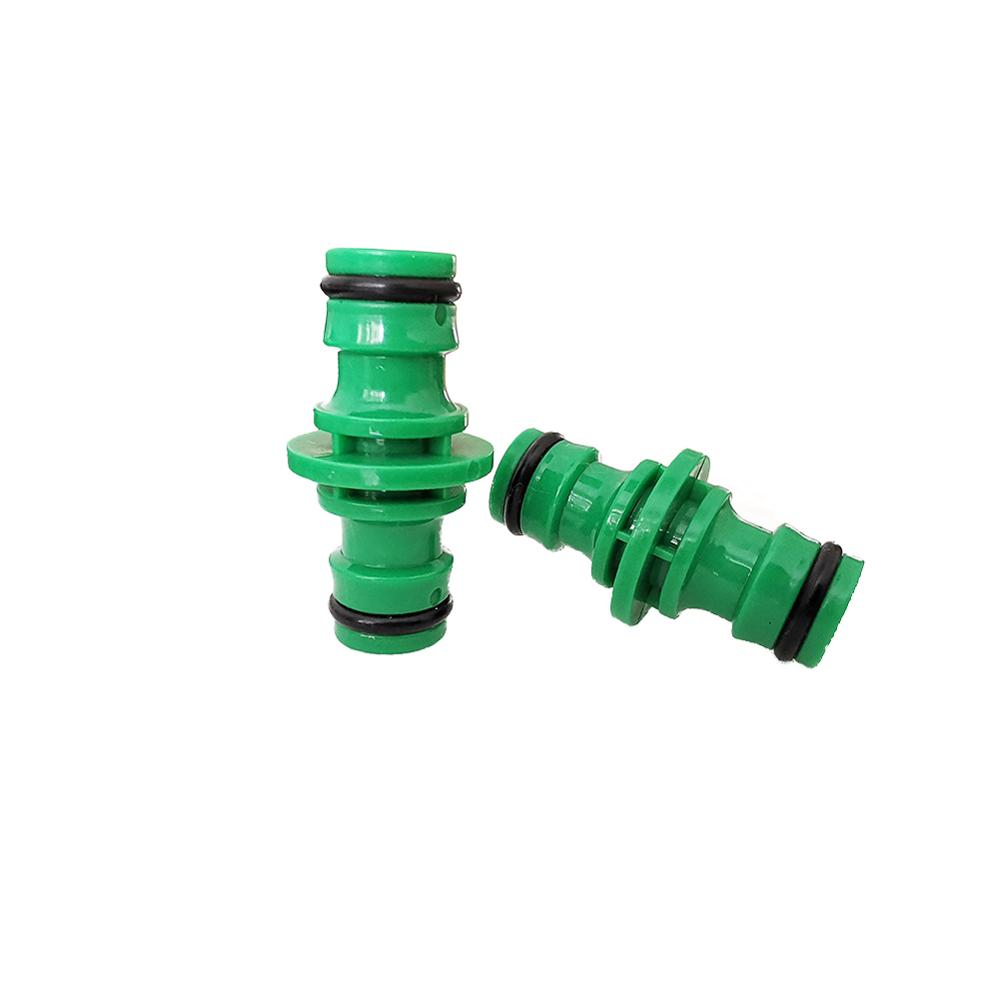 5Pcs Garden Plastic Quick Connector 1/2'' Garden Hose Fittings Pipe Connector Homebrew Water Tube 2 Way Hose Repair Coupling