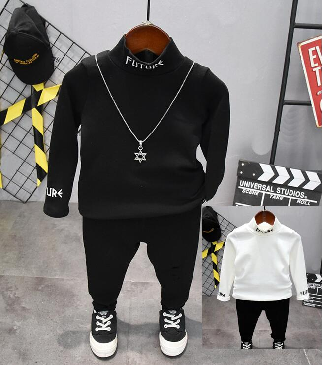 Children Boys Clothes Spring Autumn Kids Baby Boys T-shirts +Pants Outfits Set 2pcs Suit Baby Boy Clothes Set 2-6year