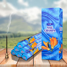 Big Box India Incense Yellow Orchid Nag Champa Aroma Incense Stick Health Air Clean Good for Sleepping(China)
