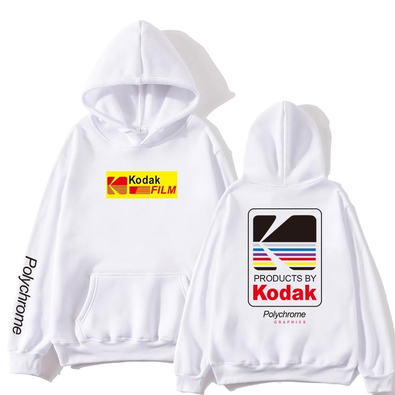KODAK Clothing Jogging Sportswear Ladies Tops Men's Tops Harajuku Casual Streetwear Japanese Hoodie Pull Japanese Street Hip-hop