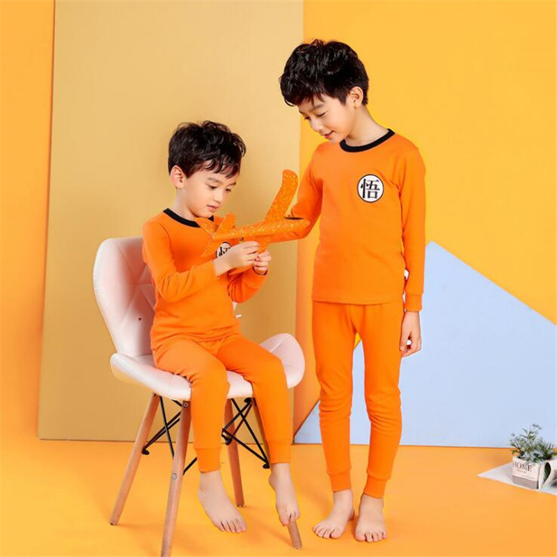 Kids Boys   Pajamas   Sleepwear Autumn Baby Girl Pyjama   Sets   Children Homewear Pijamas Nightwear 2-13Y Teenage Clothes Unisex PJS