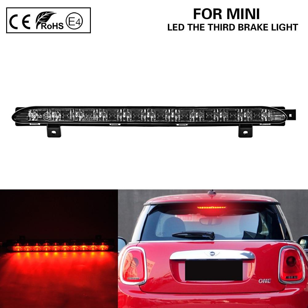 Clear LED Side Marker Lights Indicator For BMW MINI Cooper R55 R56 R57 R58 07-13
