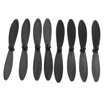 8 sztuk RC Airplaner części zamienne ostrze śmigła dla XK A110 A120 A130 Y20 części zamienne do helikoptera akcesoria do dronów tanie i dobre opinie MR RC CN (pochodzenie) Z tworzywa sztucznego Montaż kategoria propellers Śmigła Kv1100 8x blade propellers Śmigłowce
