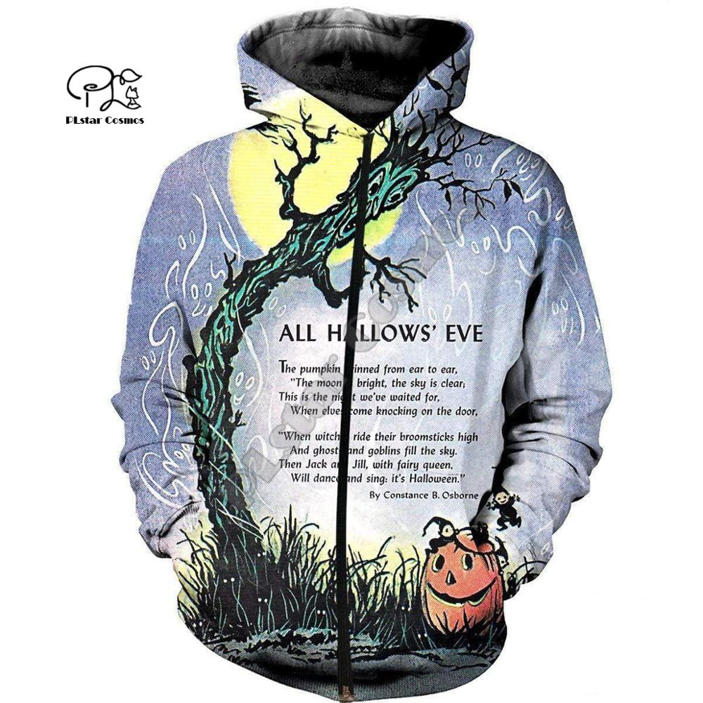 PLstar Cosmos Halloween terror horror awesome charming 3D Printed Hoodie Sweatshirt shirts Mens Womens handsome awesome style 14 in Hoodies amp Sweatshirts from Men 39 s Clothing