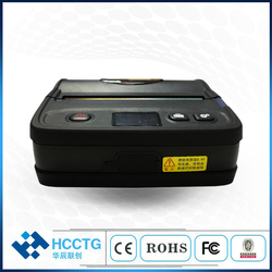 Wytrzymały czarny kolor 4 cal bluetooth kod kreskowy termiczne naklejki etykiety drukarki HCC-L51