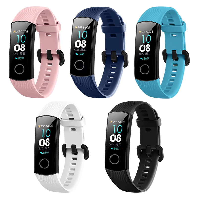 In-Stock-Silicone-Wrist-Strap-For-Huawei-Honor-Band-4-Standard-Version-Smart-Wristband-Sport-Bracelet (2)