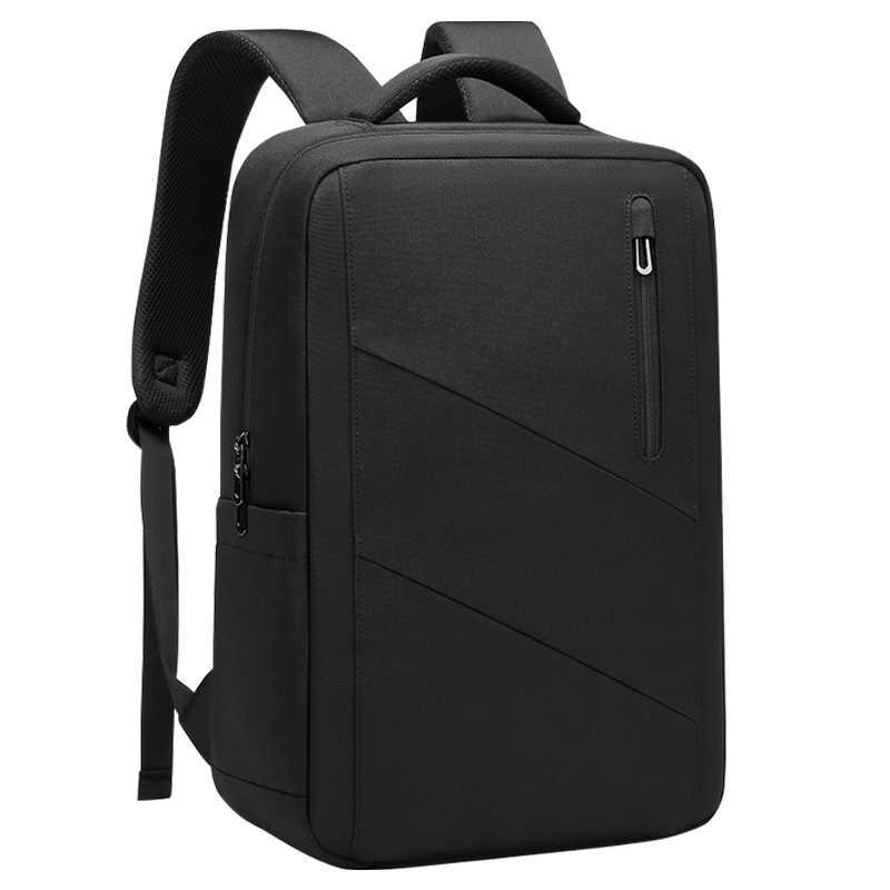 EURCOOL yeni erkekler seyahat sırt çantası çok fonksiyonlu USB şarj 15.6 inç dizüstü gençler için sırt çantaları erkek Mochila sırt çantası 2076