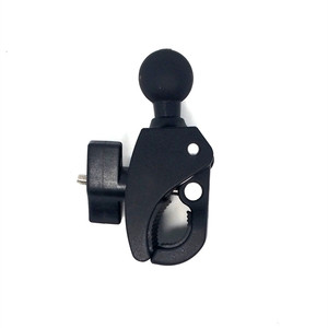 Image 4 - Jadkinsta Motorcycle Bicycle Handle Bar Rail Mount with 1 inch Ball Mount for Gopro Action Camera Handlebar Clamp