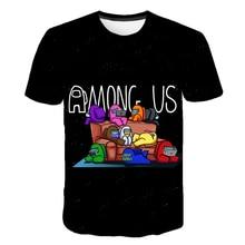 Entre nós meninos meninas manga curta t-shirts roupas crianças entre nós verão camisetas roupas meninos meninas sólidos camisetas topos