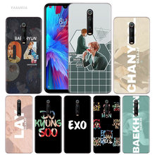 Exo K Pop Baekhyun Case for Xiaomi Redmi Note 8 7 K20 CC9 7S S2 6 6A 7A Pro MI CC9 E 9T A3 A1 A2 Lite F1 TPU Phone Cover(China)