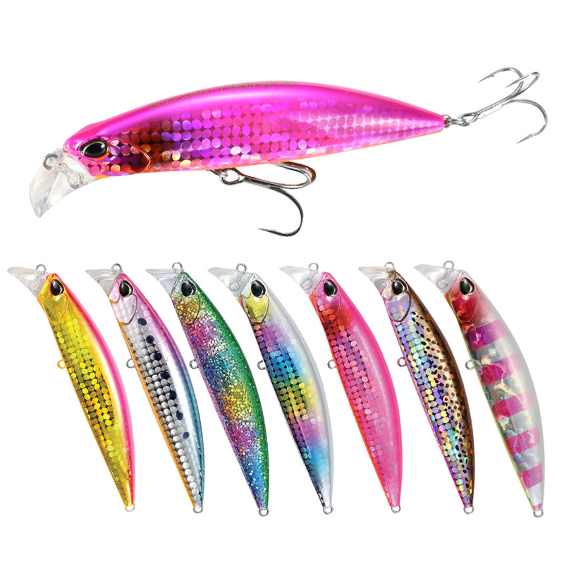 Fishing Lure 2019 Minnow 30g/9.5cm Sinking Long Casting Hard Bait Pike Seabass Isca Artificial M30