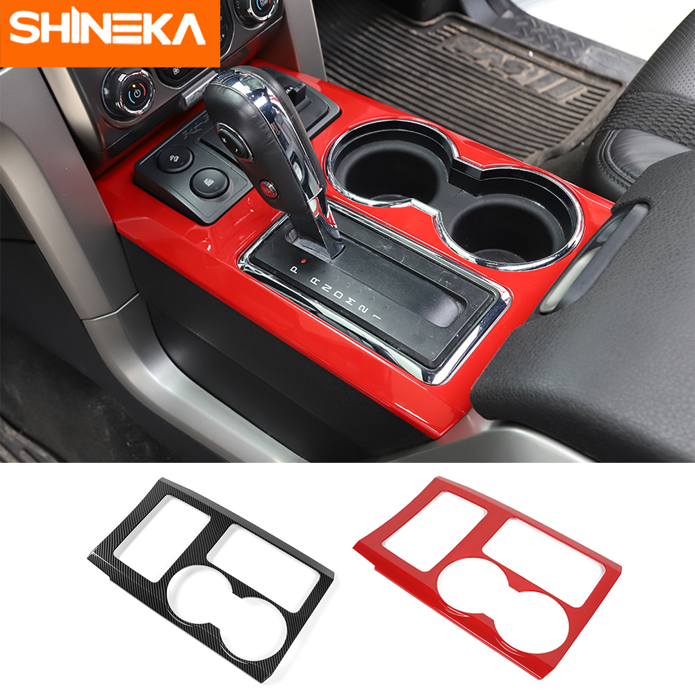 Fit For Ford Focus 2009-2014 Carbon Fiber Interior Storage Box Handle Cover Trim