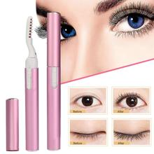 Портативный Электрический нагреваемый карандаш для завивки ресниц макияж ресницы длительные бигуди для ресниц для женщин косметика