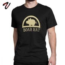 Camiseta de The Seven Deadly Sins para hombre, camiseta de jabalí Hat Sign Hawk, Camiseta de algodón con cuello redondo, camiseta estampada, camisetas de Hip Hop de manga corta