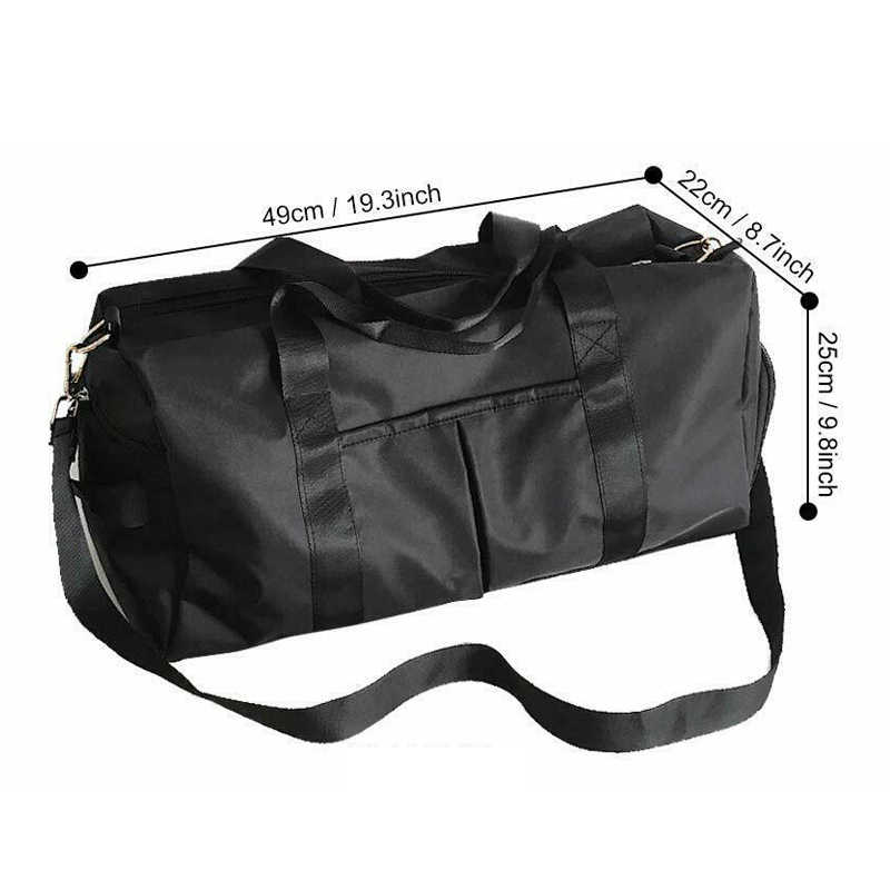 Nowa torba na siłownię siłownia Tote Travel Workout Swim torba do jogi z suchymi mokrymi kieszeniami wielofunkcyjne