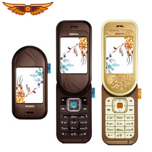 Nokia 7370 – téléphone portable d'origine débloqué, appareil photo, Bluetooth, vidéo FM, classique, bon marché, haute qualité