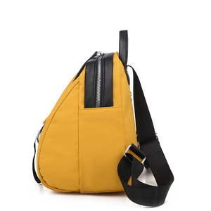 Image 4 - Toposhine Small Oxford Women Backpack Soft Quality Yellow Black Backpack Korea Multi function Shopping Girl Backpack For Lady