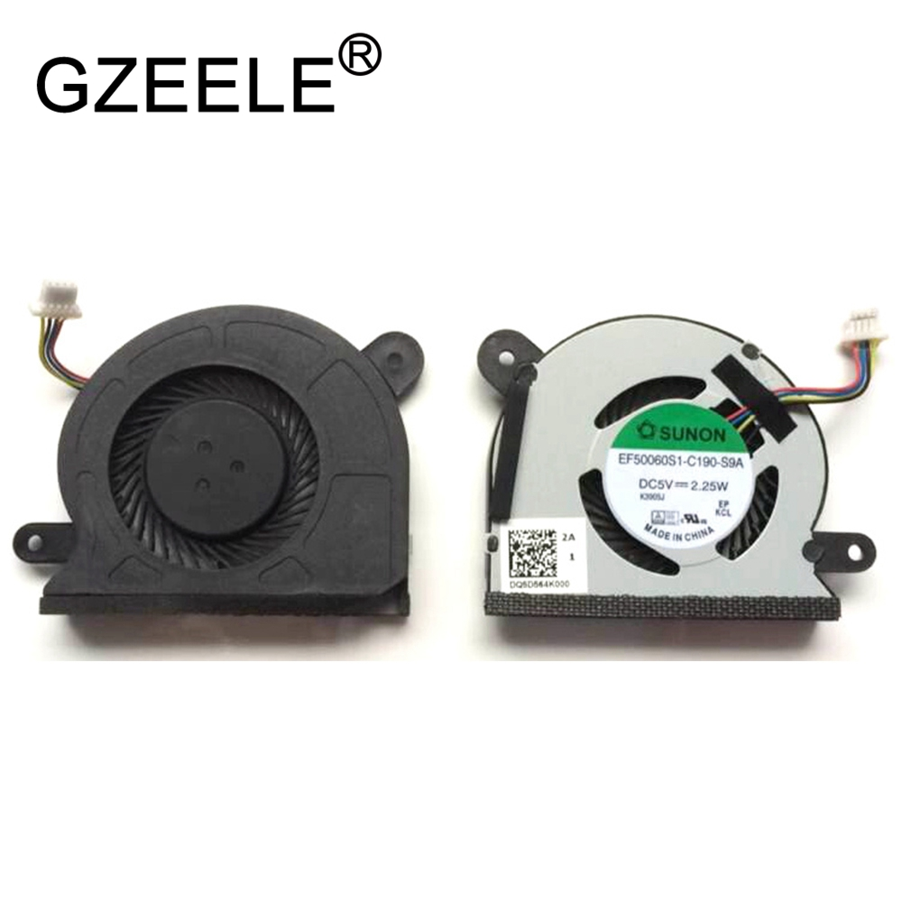 New CPU Cooling Fan For ASUS VIVOBOOK X200CA X200 X201 X200AM EF50060S1-C190-S9A Notebook Cooler Replacement Laptop Fan
