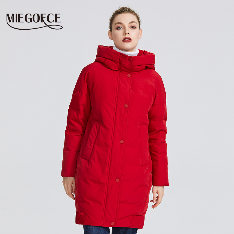 MIEGOFCE 2019 New winter womens collection Womens Winter Jacket