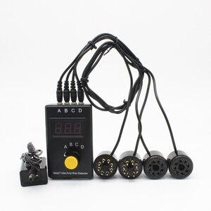 EL34 KT88 6L6 6CA7 6V6 5881 6550 KT66 KT100 KT120 Vacuum Tube Tester Amplifier Bias Current Tool Radio Preamp mA Version T1(China)