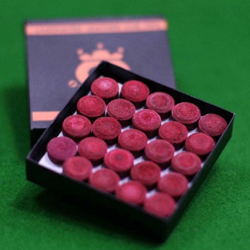 One Piece Red Omin Snooker Cue Tip 10mm Snooker Tip