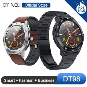 Image 1 - DTNO.I No.1 DT98 Smart Watch IP68 Waterproof 1.3 Full Round HD Screen ECG Detection Multi Dials Smartwatch Fitness Tracker Men