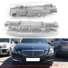 Головной светильник drl для Mercedes-Benz W204 W212 C250 C280 C350 E350 R172 2007-2014 светодиодный противотуманный светильник s головной светильник s туман светильни...