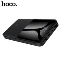HOCO Power Bank 10000mah Portable Charger Type C Powerbank LED External Battery For Xiaomi Mi iPhone Huawei Samsung
