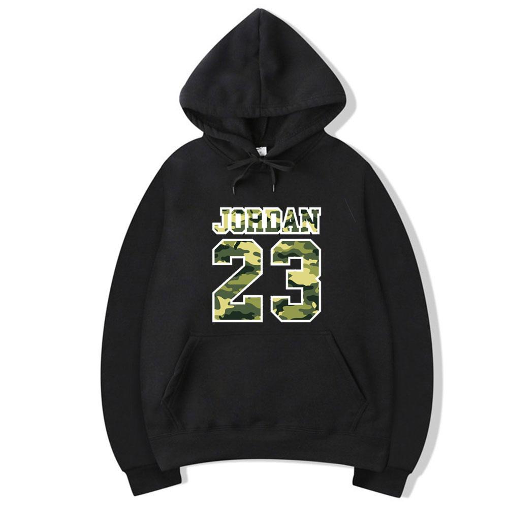 2019 New JORDAN 23 Letter Print Sweatshirt Men Hoodies Fashion Solid Hoody Mens Pullover Mens Tracksuits Male Coats